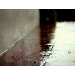 PICTURES OF RAIN | DROPS ON PAVEMENT