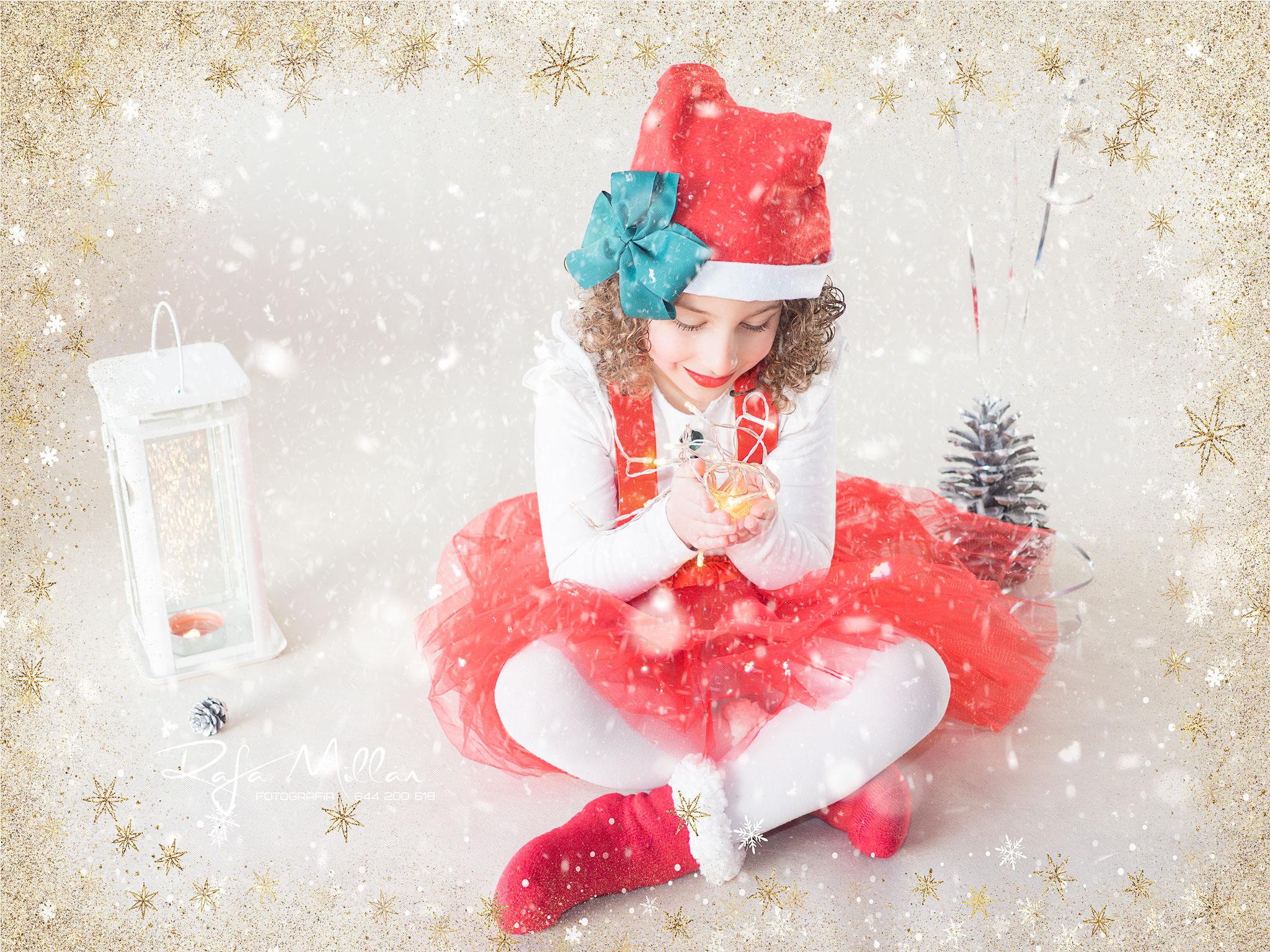 Sesion de navidad con niños